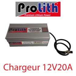 Chargeur LifePo4 12 Volts