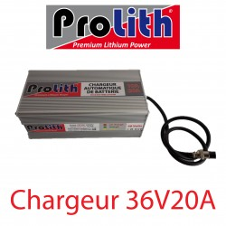 Chargeur LifePo4 36Volts