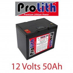 Batterie LifePo4 12 Volts 50Ah