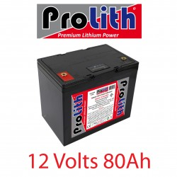 Batterie LifePo4 12 Volts 80Ah